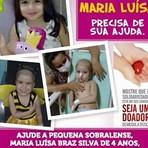 Campanha 'Ajude Maria Luísa na luta contra a leucemia'