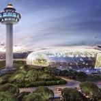Em breve: aeroporto mais impressionante do mundo em Singapura