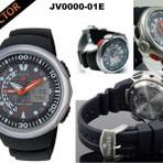 Diversos - Relógios citizen aqualand moderno e resistente