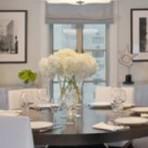 Modernas mesas de jantar redondas e cheias de estilo
