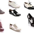 Sapatos oxford femininos, um deles vai encantar você.