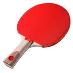 Bata uma bolinhas com raquetes para tênis de mesa