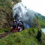 Trem de Moscou a Vladivostok e Pequim inesquecível