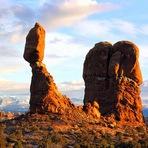 O olho da Lua - Parque Nacional dos Arcos - Utah