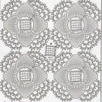 Gráficos de crochê para colchas de cama