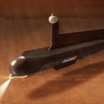 Espaço - Nasa prevê envio de submarino para explorar mar de óleo em lua de Saturno