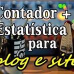 Contador de visitas grátis + Estatística para seu blog ou site