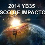 Pode o asteroide 2014 YB35 atingir a Terra na sexta-feira?