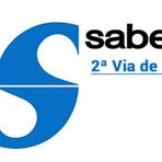 Utilidade Pública -  Sabesp 2 via de conta