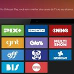 Entretenimento - Globosat Play disponível na Claro TV.