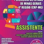 Apostila Digital e Impressa Concurso CRP-MG 4º Região 2015 - Conselho Regional de Psicologia do Estado de Minas Gerais