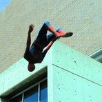 Entretenimento - O Espetacular Homem-Aranha versão parkour