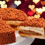 Hoje eu vou de Torta Doce de Leite Crocante - Delivery Bolos, Pavês, Tortas