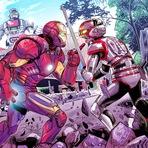 Confronto de super-heróis: EUA vs Japão!