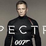 007 Contra Spectre, 2015. Teaser trailer legendado. Ação, suspense e espionagem. Daniel Craig. Ficha técnica. Cartaz.