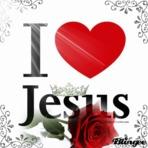 Religião - Gifs animados I Love Jesus