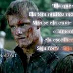 Frase: Vikings, Rollo (Clive Standen). Série History. Imagem.
