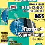 Apostila Instituto do Seguro Social 2015 - Técnico INSS - IMPRESSA e DIGITAL
