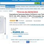 Galaxy S4 Branco com R$ 599,90 de desconto