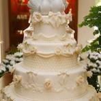 Belos bolos de casamento para festa
