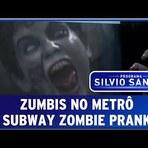 Pegadinha dos 'Zumbis No Metrô' do Programa Silvio Santos