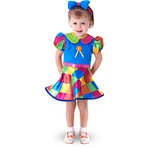 Fantasia Infantil Palhacinha Bebê M ( 2 anos ) - Sulamericana