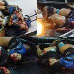Violência - IMAGENS FORTES: Confronto entre policiais e bandidos deixa sete mortos em Currais Novos/RN