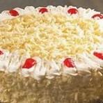 Receita: Bolo Floresta Branca com Cerejas e Doce de Leite - Receitas do Chef