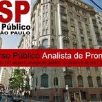 Utilidade Pública - Ministério Público de São Paulo publicou o edital com 107 vagas de analista promotoria