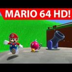 Conheça o ramake da primeira faze do jogo Super Mario 64