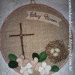 Enfeite Feliz Páscoa