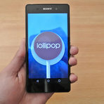 Android Lollipop para Sony Xperia Z1