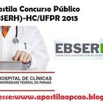 Apostila Concurso EBSERH 2015 -HC/UFPR do Paraná