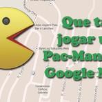 Que tal jogar Pac-Man pelo Google Maps?