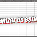 10 DICAS PARA ORGANIZAR UM CRONOGRAMA DE ESTUDO