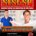Apostila Processo Seletivo SESI SP 2015 - Serviço Social da Indústria de São Paulo