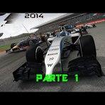 F1 2014 Modo Senário parte 1