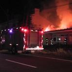 Incêndio destrói residência na Área Militar em Cascavel