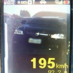 Motorista é flagrado dirigindo a 195 km/h na BR-467, entre Cascavel e Toledo