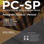 Apostila Concurso Polícia Civil SP Fotógrafo Técnico - Pericial 2015