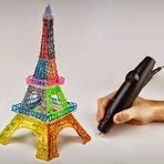 Tecnologia & Ciência - Canetas com escritas 3D reais para designers