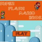Jogo online  grátis do Super Flash Mario Bros