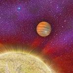 Encontrado planeta gigante com 4 sóis ao seu redor