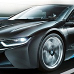 Novo BMW i8 com propulsão híbrida