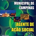 Apostila AGENTE DE AÇÃO SOCIAL - Concurso Prefeitura Municipal de Campinas / SP (Agente Social)