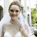 """Vestido de Noiva da Júlia (Isabelle Drummond) na Novela """"Sete Vidas"""" – Fotos"""