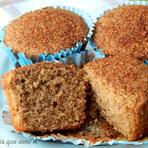 Culinária - Receita de Cupcake integral