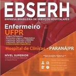 Apostila EBSERH do PR - Concurso HCH UPPR (PARANÁ) Enfermeiro