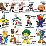 Copa do Mundo - Mascotes da Copa do Mundo