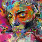 Índia mística ressoa na pintura digital de Archan Nair